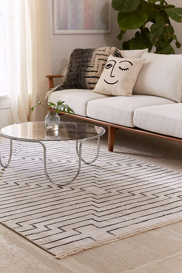 Luca Woven Rug from Urban Outfitters