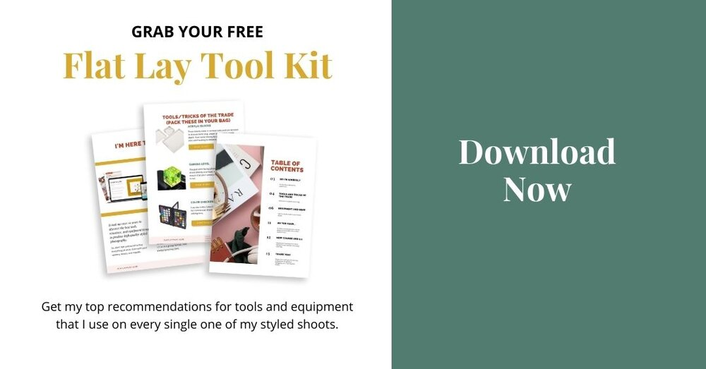Download free flat lay tool kit here.